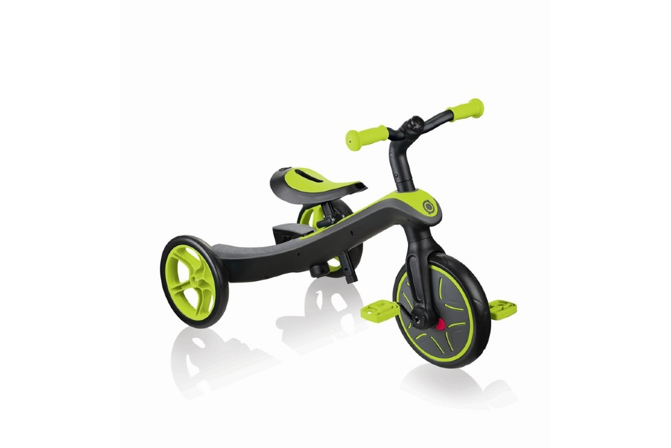 Велосипед-беговел Globber TRIKE EXPLORER 2 IN 1 (Зеленый)